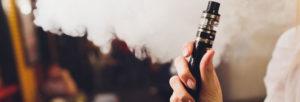 Utilisation de cigarette électronique